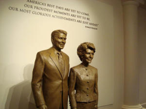 Ronald  and Nancy Reagan