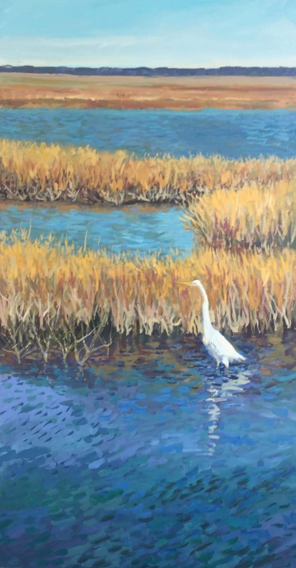 Stephen Moore Listening For Lunch 24X48