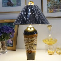 Black Opal Table Lamp
