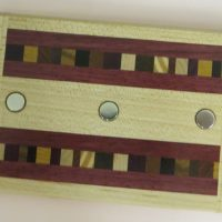 Natural Renaissance 3Magnet Key Holder