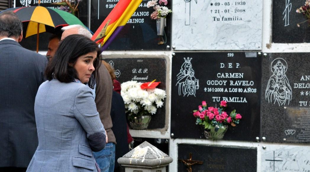 Homenaje a los desaparecidos en Arucas
