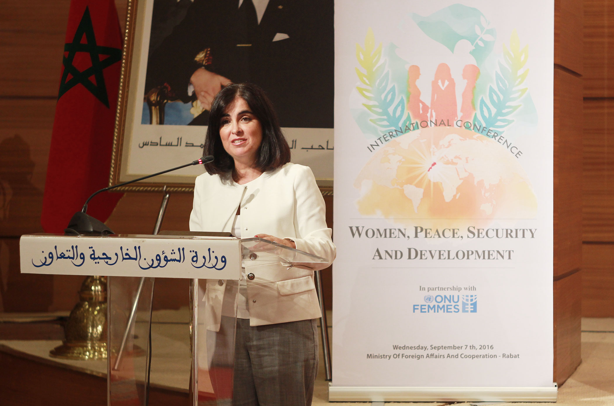 Conferencia en Rabat