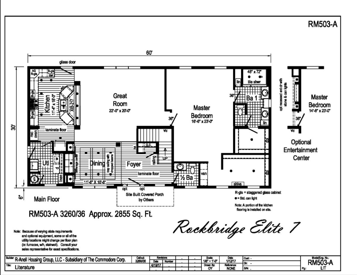 Rockbridge Elite 7 Carolina Diversified Builders