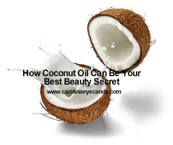 coconut oil beauty secret