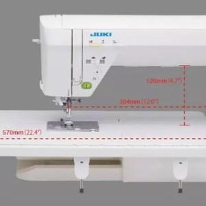 #8020 Juki blindstichfuß para HzL f300//f400//f600 para saumabschl invisibles