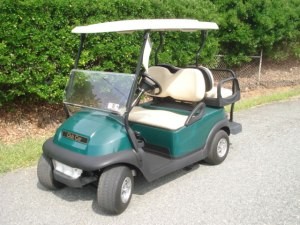 48V Club Car Precedent. Lights, premium Max5 rear seat and windshield