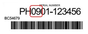 serial number Club Car example