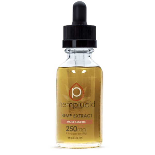 HEMPLUCID TINCTURE WATER SOLUBLE 250mg CBC in SUPER absorbance form