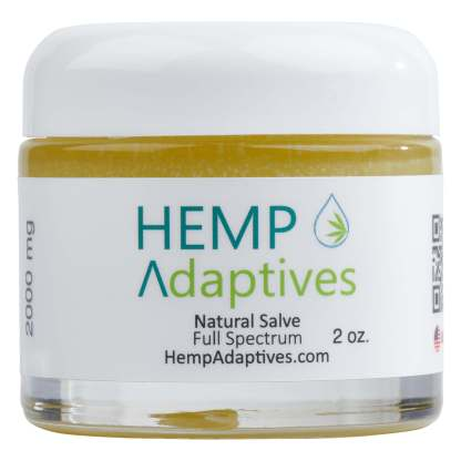 Hemp Adaptives Full Spectrum All Natural CBD Salve Balm