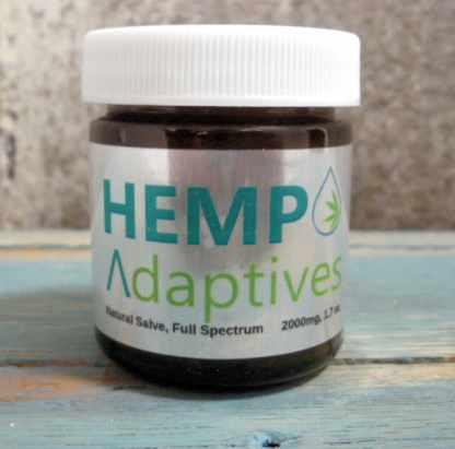 Hemp Adaptives Full Spectrum All Natural CBD Salve Balm