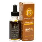 Hemplucid Healthy MCT oil Based CBD with Full Spectrum Cannabinoids