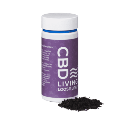 CBD Living Berry Black Loose Leaf Tea