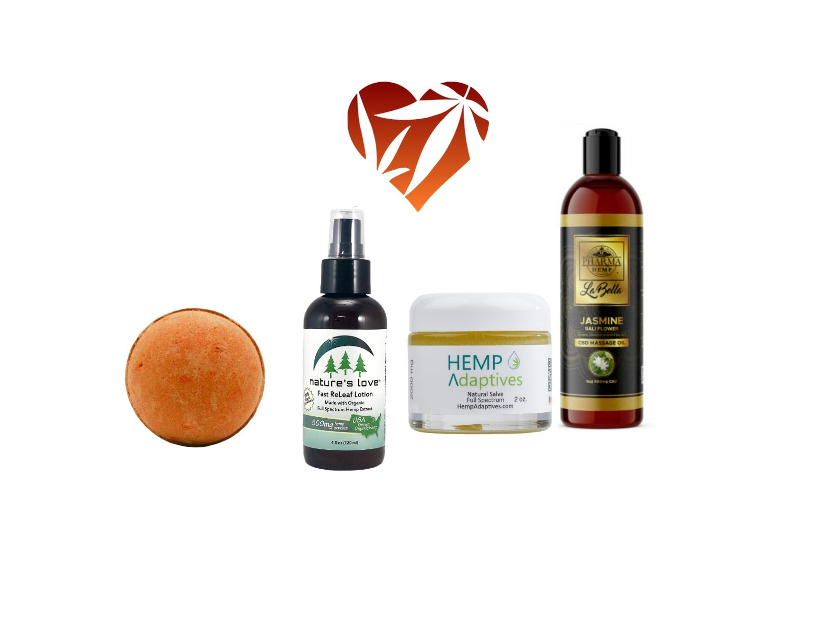 Hemp Oil Extract and Hemp Seed Topicals for Beauty and Pain relief