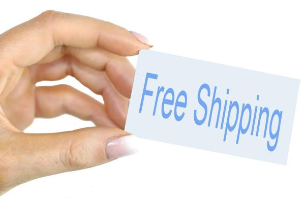 Get Free shipping with promo code