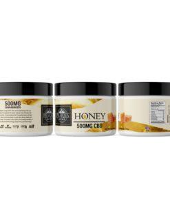 Hemp Oil Extract Honey