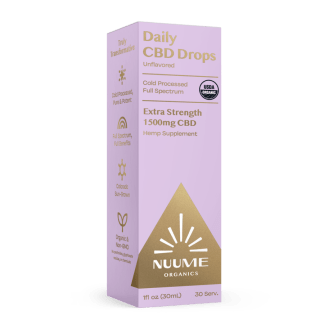 NuuMe Hemp Oil extract cbd drops