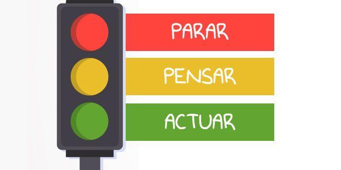 técnica del semáforo