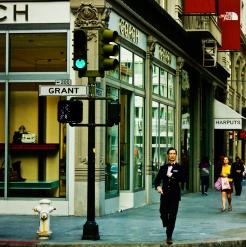 Grant and Post. San Francisco, California.
