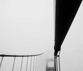 Foggy Golden Gate, San Francisco.