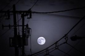 Mission District Moon, San Francisco.