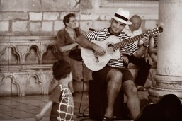 Guitarrista de Dubrovnik.