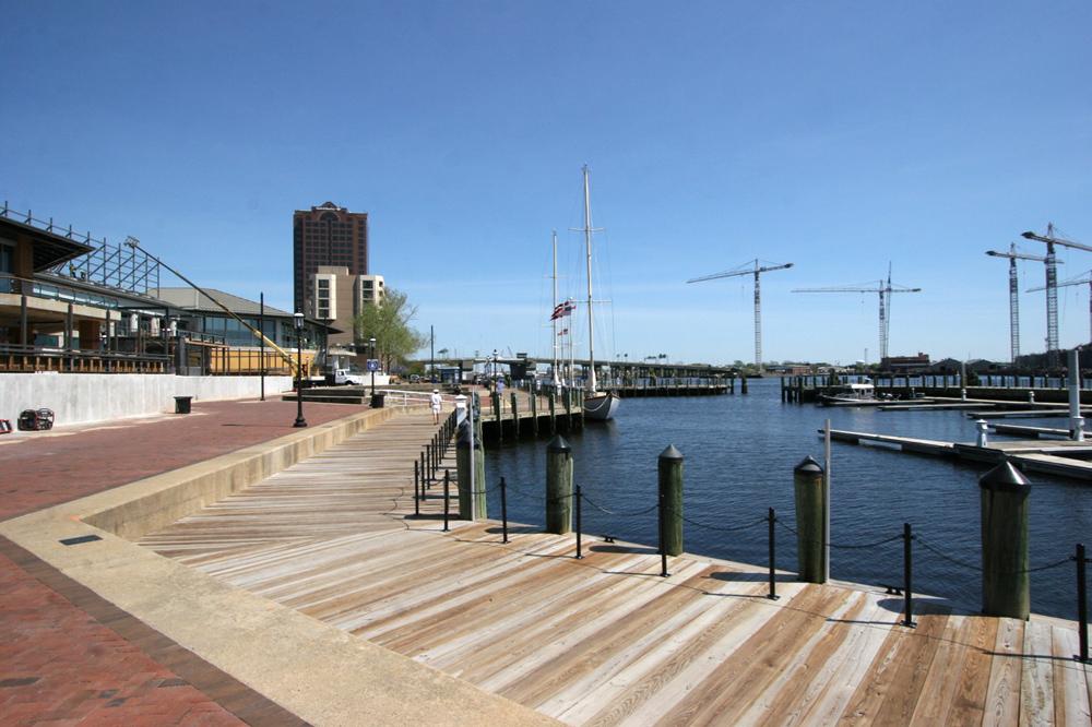 waterside drive marina renovation
