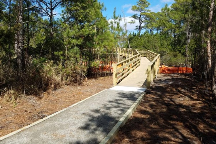 Stone and Elevated Walkway Construction in Dare County