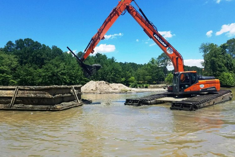 Stoney Run Regional Bmp; Stream Restoration and Lake Dredging Project
