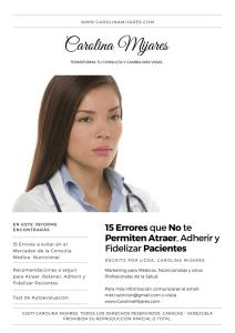 15 errores en el mercadeo médico