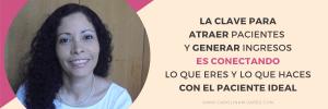 Carolina Mijares, Mentora para Nutricionistas Emprendedores