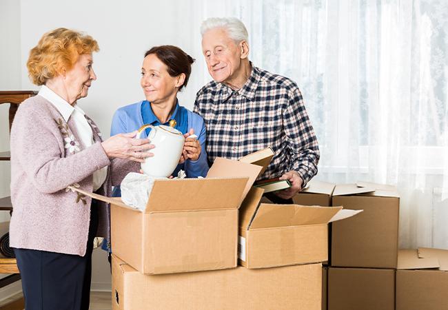 Moving into Senior Living Community