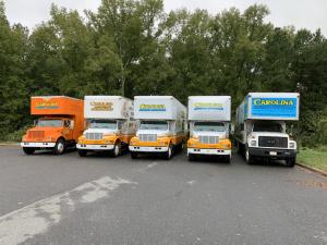 Carolina Moving Solutions Truck Fleet