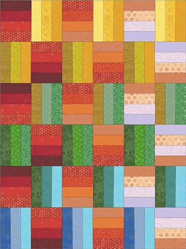 inspiración de color para patrón before sunset de carolina oneto