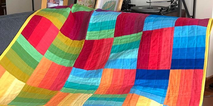 patron quilt before sunset carolina oneto