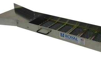 "Royal 54"" Ultra Wide Flare Sluice"