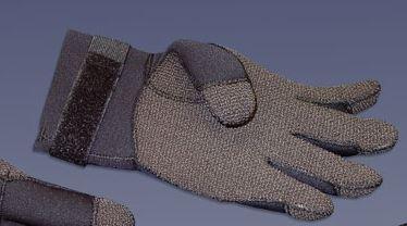 Proline - S-680 Gloves w/Kevlar - X- Large