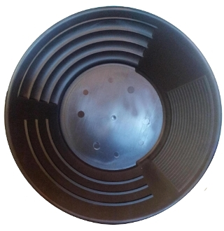 "Black - Martin Prospecting Original 10"" Gold Pan"