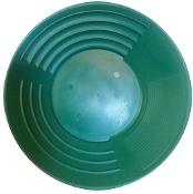 """Green - Martin Prospecting Original 10"""" Gold Pan"""