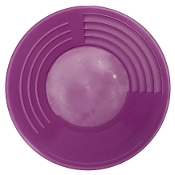 "Purple -Martin Prospecting Original 14"" Gold Pan"