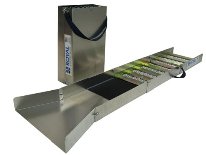 "Royal - Multi-Purpose True Highbanker/Hopper 50"" Folding Suice Box Kit"