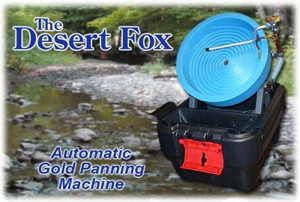 The Desert Fox Automatic Gold Panning Machine - Standard Model