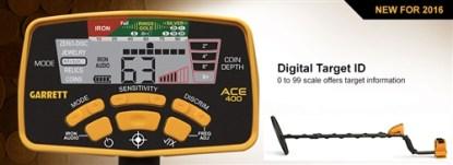 Garrett Ace 400  with 3 FREE Accessories