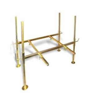 Gold Cube Stand