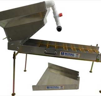 "Highbanker / Dredge Ready Hopper 54"" Slucie Kit - Royal Manu."