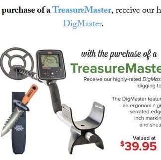 TreasureMaster - White's Metal Detectors - New !!!!