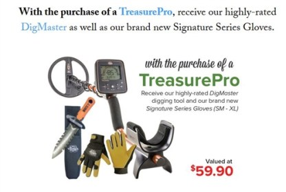 TreasurePro - White's Metal Detectors - New !!!!