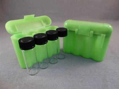 VIAL STORAGE BOX - GREEN