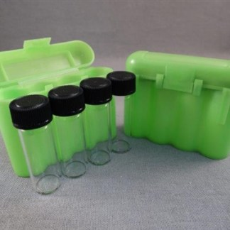VIAL STORAGE BOX - GREEN
