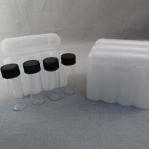 VIAL STORAGE BOX - WHITE