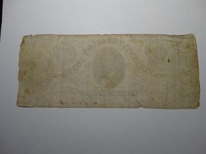 $5 - 1862 VIRGINIA TREASURY NOTE -CR# 13 -Cir.